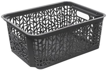 BranQ Basket Bamboo Dark Gray
