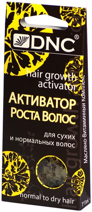 Масло для волос DNC Growth Activator For Dry And Normal Hair, 15 мл