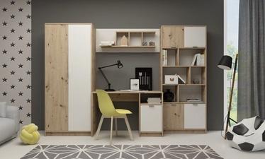 Комплект мебели для детской комнаты WIPMEB Carlos, белый/дубовый