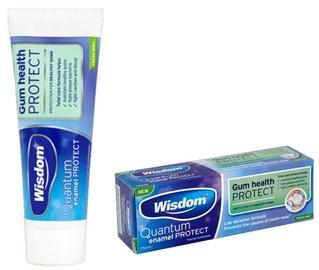 Wisdom Quantum Enamel Protect Gum Health Protect Toothpaste 75ml