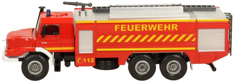 Siku Mercedes-Benz Zetros Fire Engine 2109