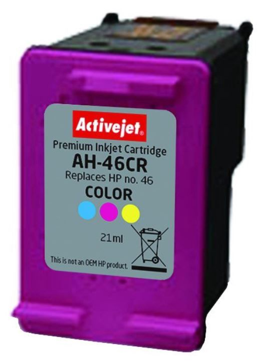 ActiveJet Cartridge AH-46CR For HP 21ml MultiColor