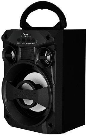 Bezvadu skaļrunis Media-Tech MT3155, melna, 6 W