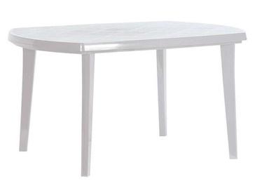 Dārza galds Keter Elise White, 137 x 90 x 73 cm