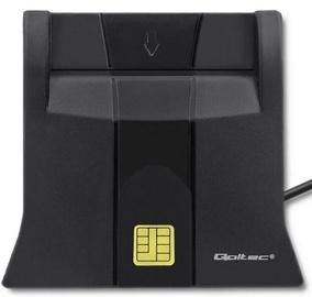 Atmiņas karšu lasītājs Qoltec Smart Chip ID Card Scanner 50643