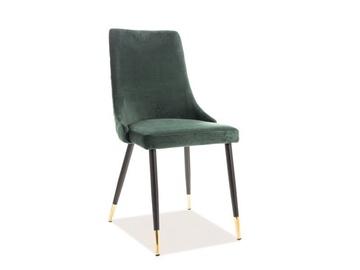 Стул для столовой Signal Meble Piano Velvet Green