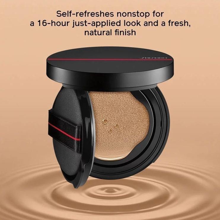 Tonizējošais krēms Shiseido Synchro Skin Cushion Compact 210 Birch Birch, 13 g