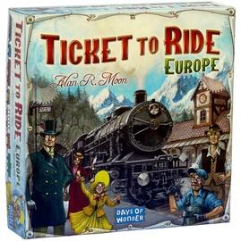 Настольная игра Kadabra Ticket to Ride Europa, EN
