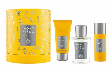 Acqua Di Parma Colonia Pura 100ml EDC + 75ml Shower Gel + 50ml Deodorant Spray Unisex