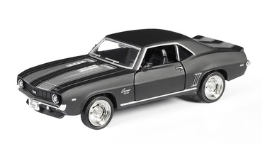 Bērnu rotaļu mašīnīte RMZ City Chevrolet camaro 554026M, melna