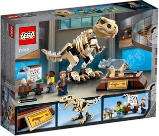 Konstruktors LEGO Jurassic World Tiranozaura fosilijas eksponāts 76940, 198 gab.