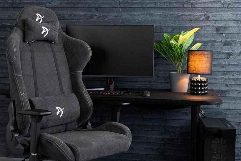 Spēļu krēsls Arozzi Torretta Soft Fabric Ash