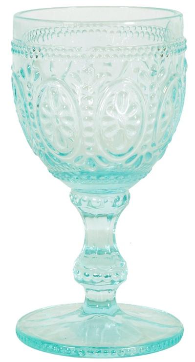 Home4you Wine Goblet Garda 250ml Turquoise
