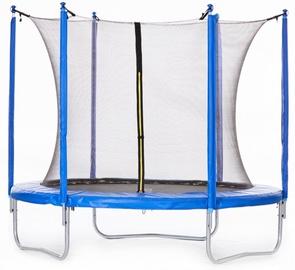 Tesoro Trampoline 252cm Net/Ladder Blue/Black