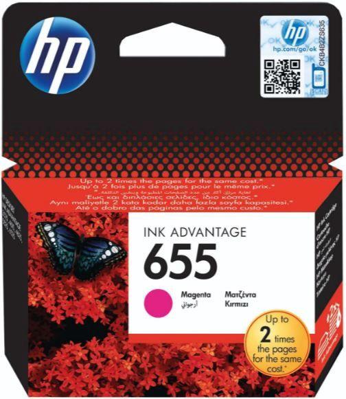 HP 655 Cartridge Magenta
