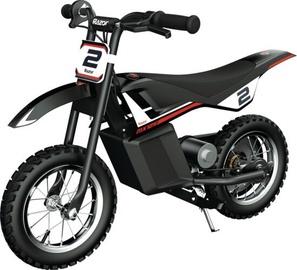 Rotaļlietu bezvadu motocikls Razor MX125, melna