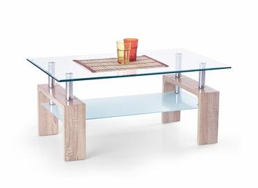 Kafijas galdiņš Halmar Diana Intro Sonoma Oak, 1000x600x450 mm