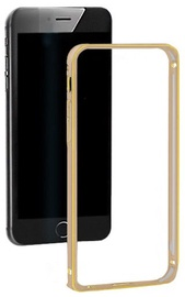 Qoltec Aluminum Bumper For Apple iPhone 5/5s Gold