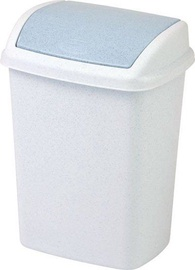Atkritumu tvertne Curver Dominik Light Grey, 10 l