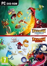 Rayman Legends And Rayman Origins Double Pack PC