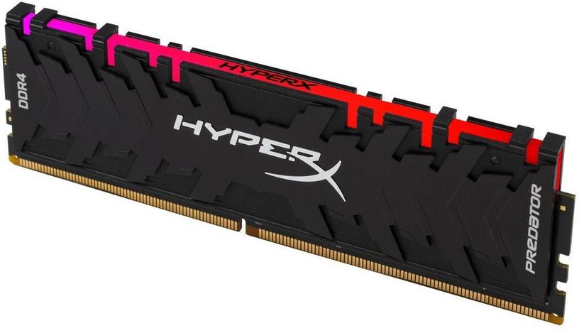 Operatīvā atmiņa (RAM) Kingston HyperX Predator RGB HX429C15PB3A/8 DDR4 8 GB CL15 2933 MHz