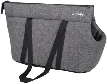 Amiplay Palermo Pet Carrier Bag S 35x21x24cm Dark Gray