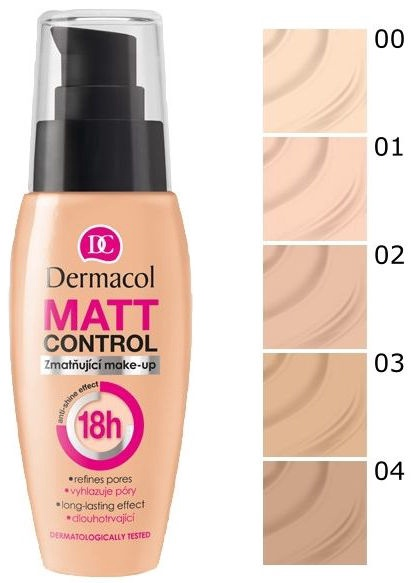 Dermacol Matt Control MakeUp 30ml 03