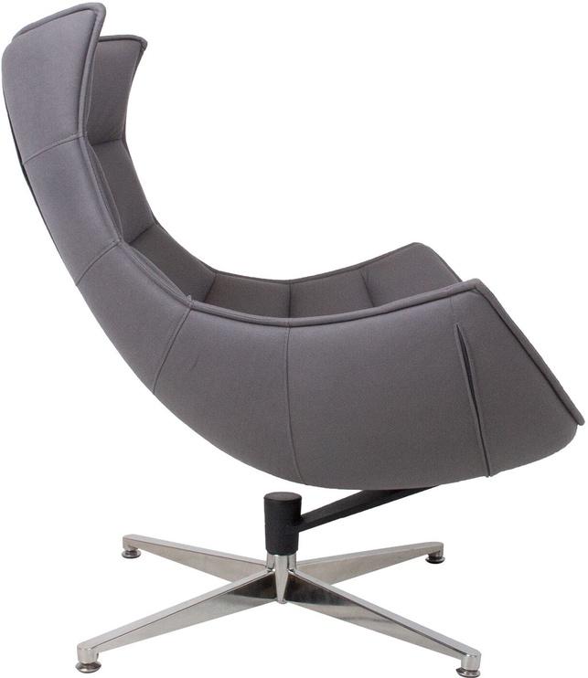 Atzveltnes krēsls Home4you Grand Extra 39039, pelēka, 84x86x96 cm