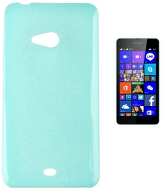 Telone Candy Ultra Slim Back Case For Microsoft 540 Lumia Light Blue