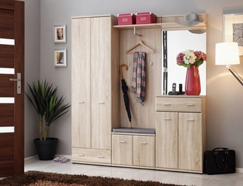 ASM Armario III Hallway Wall Unit Set Sonoma Oak