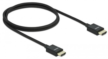 Delock Koaxiales High Speed HDMI Cable 1m Black