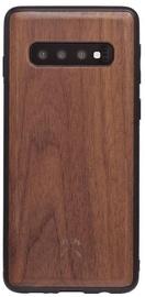 Woodcessories Bumper Back Case For Samsung Galaxy S10 Walnut/Black