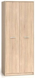 Black Red White Nepo Plus Hallway Wardrobe Sonoma Oak