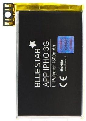 BlueStar Battery For Apple iPhone 3G Li-Polymer 1300mAh Analog