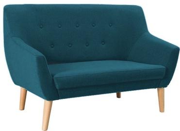 Dīvāns Signal Meble Nordic 2 Cablo 09 Blue, 136 x 75 x 90 cm