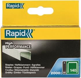 Rapid Flatwire 140/6mm Green Staples 2000pcs