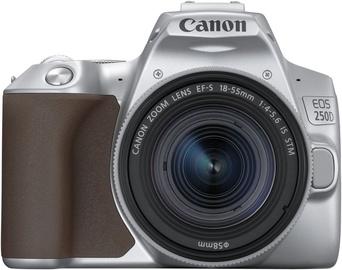 Spoguļkamera Canon EOS 250D + 18-55mm IS STM Kit Silver