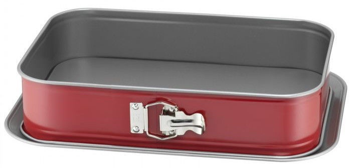 Kaiser Classic Plus Cake Form 24x36cm Red Silver