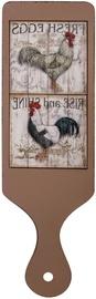 Home4you Cutting Board Rise&Shine 12x40cm Brown 76057