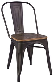 Ēdamistabas krēsls Signal Meble Loft, pelēka