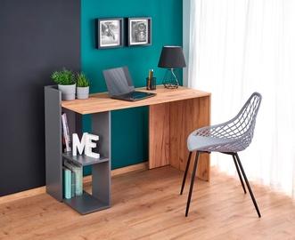 Письменный стол Halmar Fino Anthracite/Wotan Oak