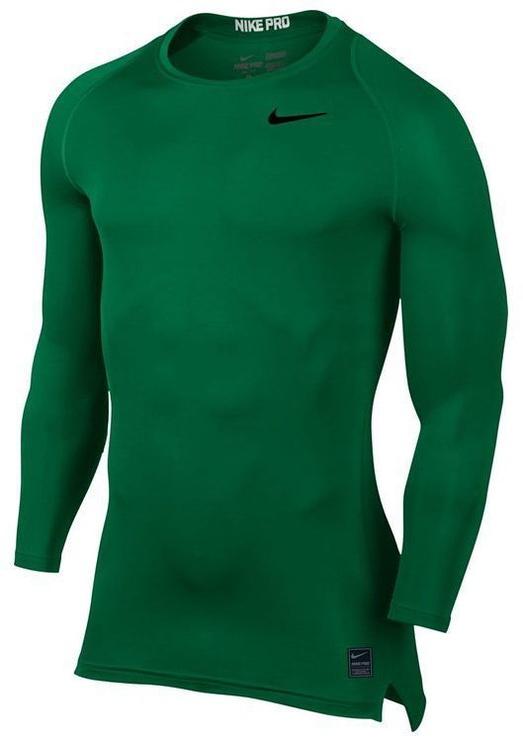 Nike Men's Pro Cool Compression LS Top 703088 302 Green 2XL