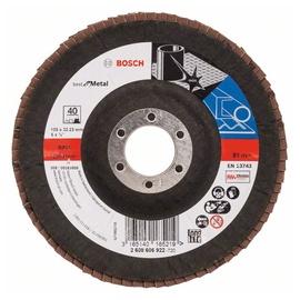 Bosch Abrasive Grinding Disc K40 125mm