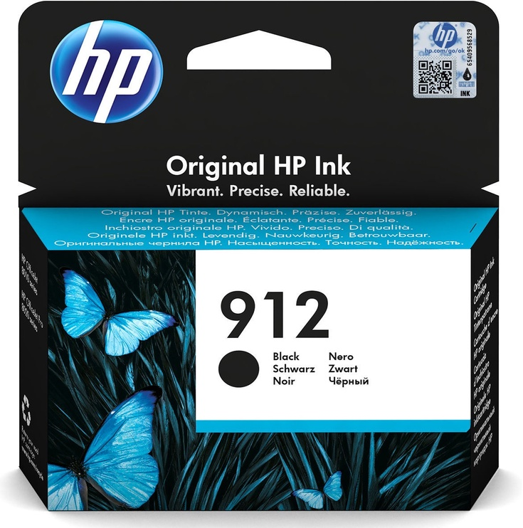HP 912 Ink Cartridge 3YL80AE Black