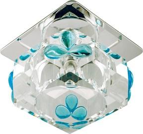 Candellux SK-49 Downlight 20W G4 Cube/Blue Tears