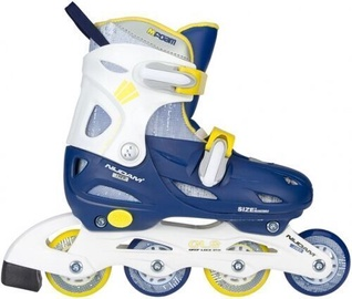 Ролики Schreuders Sport Nijdam 52SJ Blue/White/Yellow 27-30