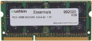 Operatīvā atmiņa (RAM) Mushkin Essentials 992020 DDR3 (SO-DIMM) 8 GB CL9 1333 MHz