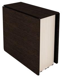 Pusdienu galds DaVita Kolibri 12.2 Wenge/Koburg Oak, 2310x800x750 mm