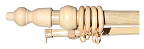 Карниз Okko Curtain Rod D28 300cm Pine