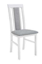 Ēdamistabas krēsls Black Red White Belia White/Grey
